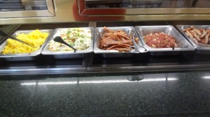 Some of the yummy options at Crystal Palace Breakfast!