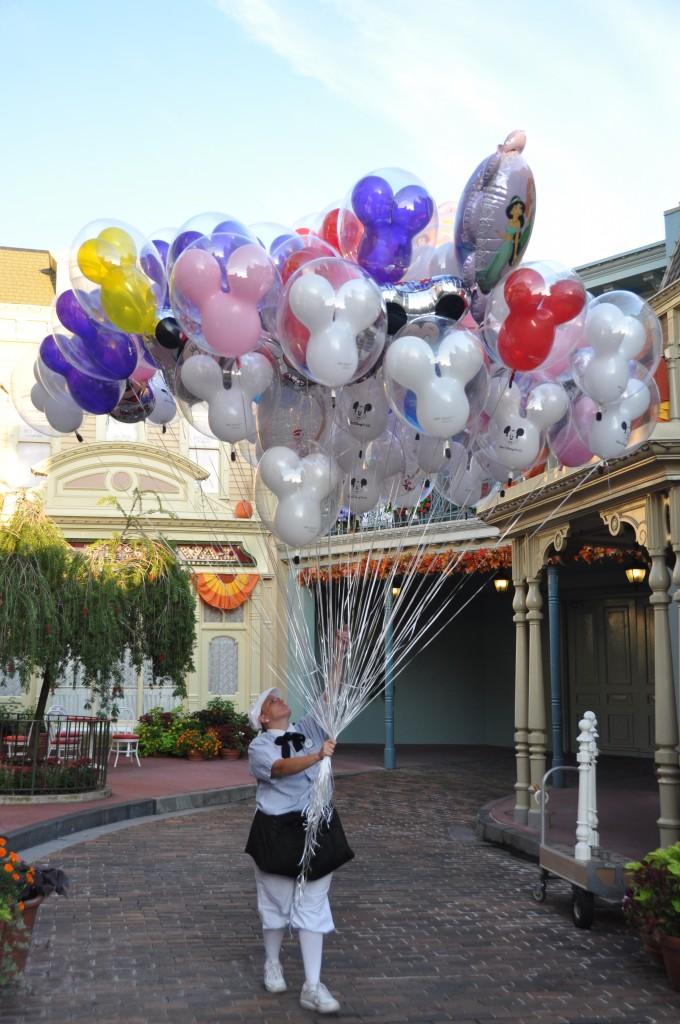 Balloons on Main Street by Bill Moss