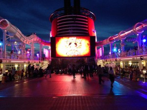 Pirate garb is appropriate on a Disney Cruise, especially on Pirate night.