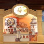 A mural in the Ghirardelli Soda Fountain at Downtown Disney
