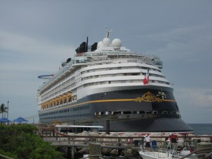 The tail end of the Disney Magic