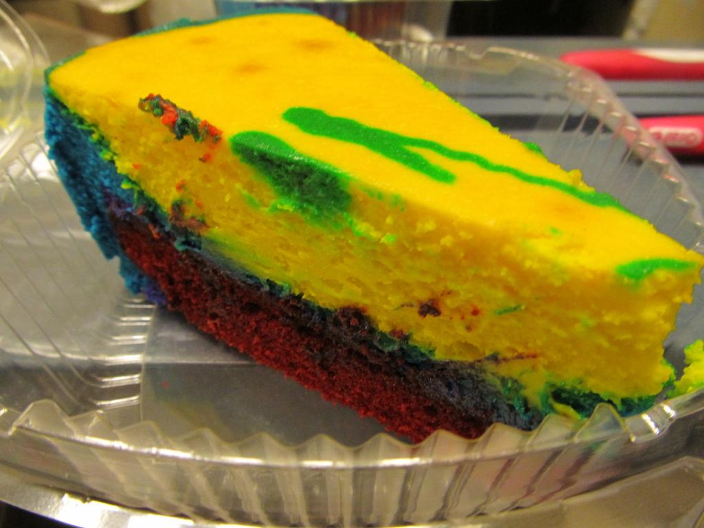 Celebrate National Cheesecake Day! Tie Dye Cheesecake Recipe