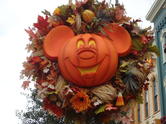 Mickey Pumpkin Head