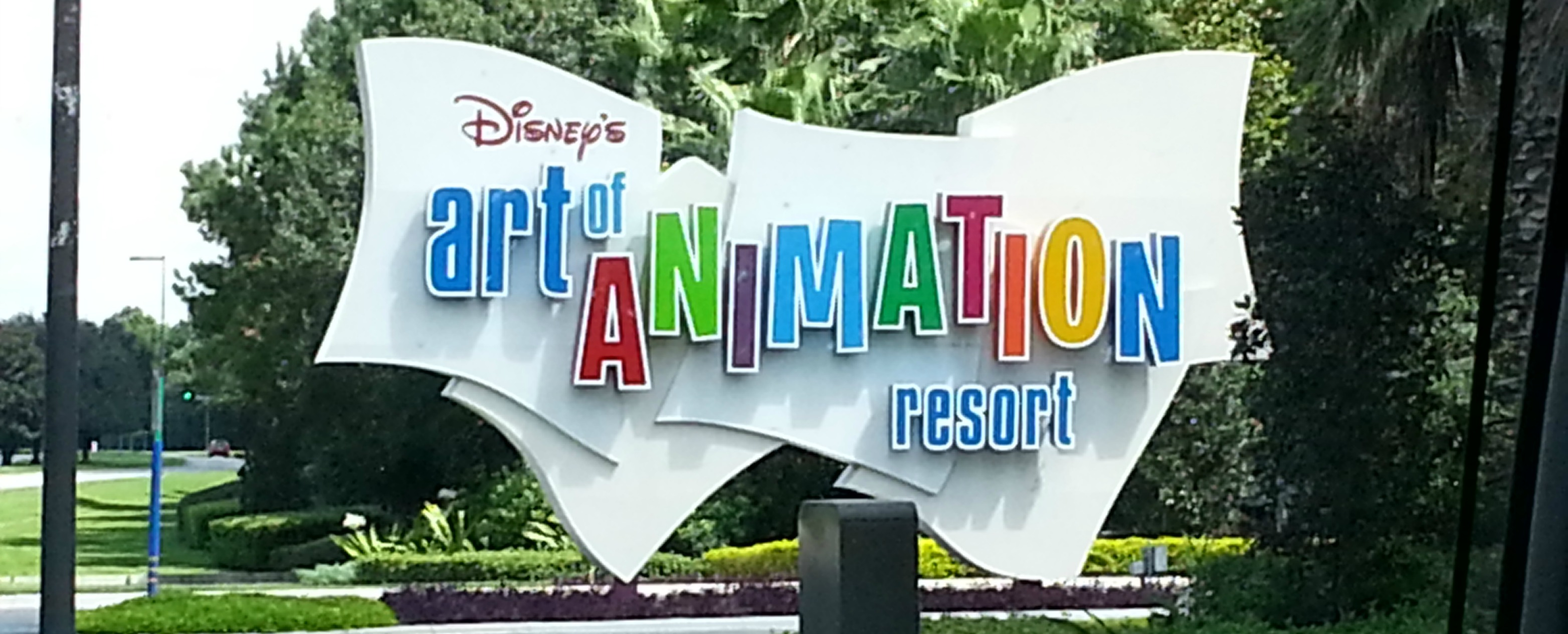 Immersed in the Magic at Disney's Art of Animation Resort